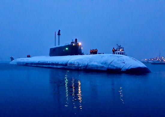 база атомных подводных лодок северный