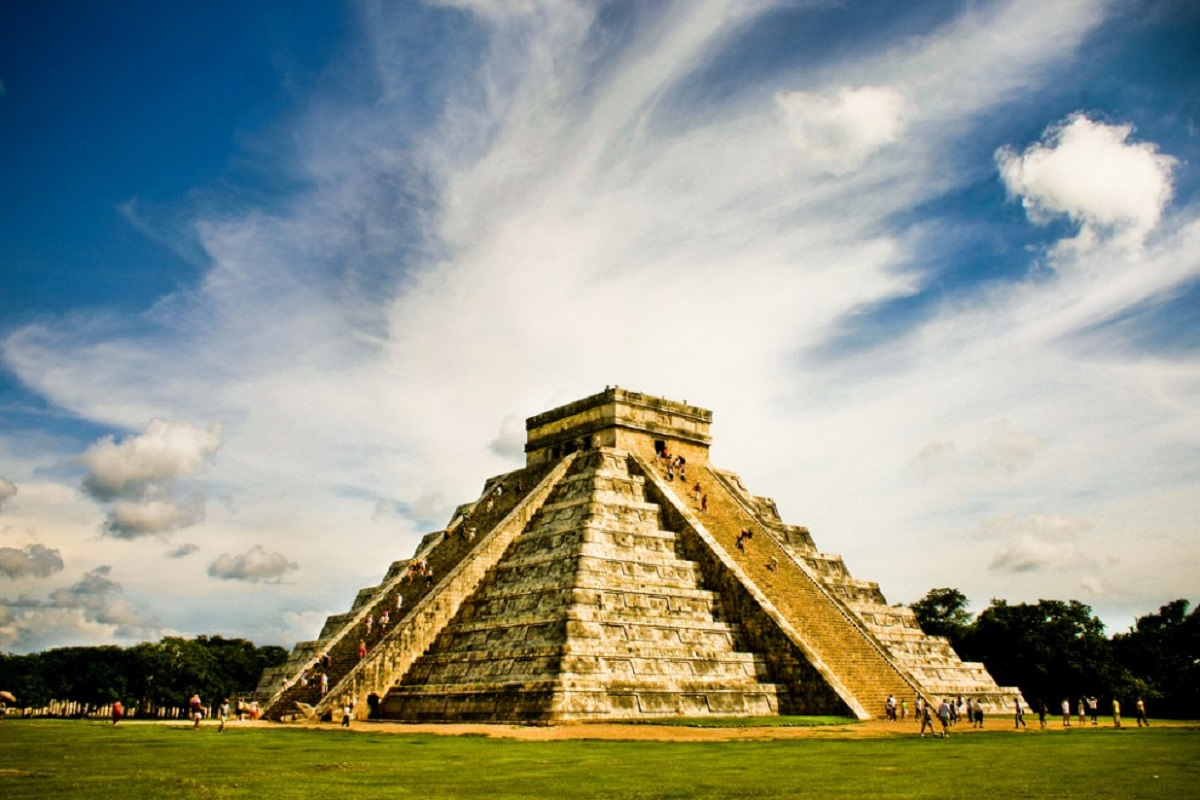 пирамиды майя картинки выхода