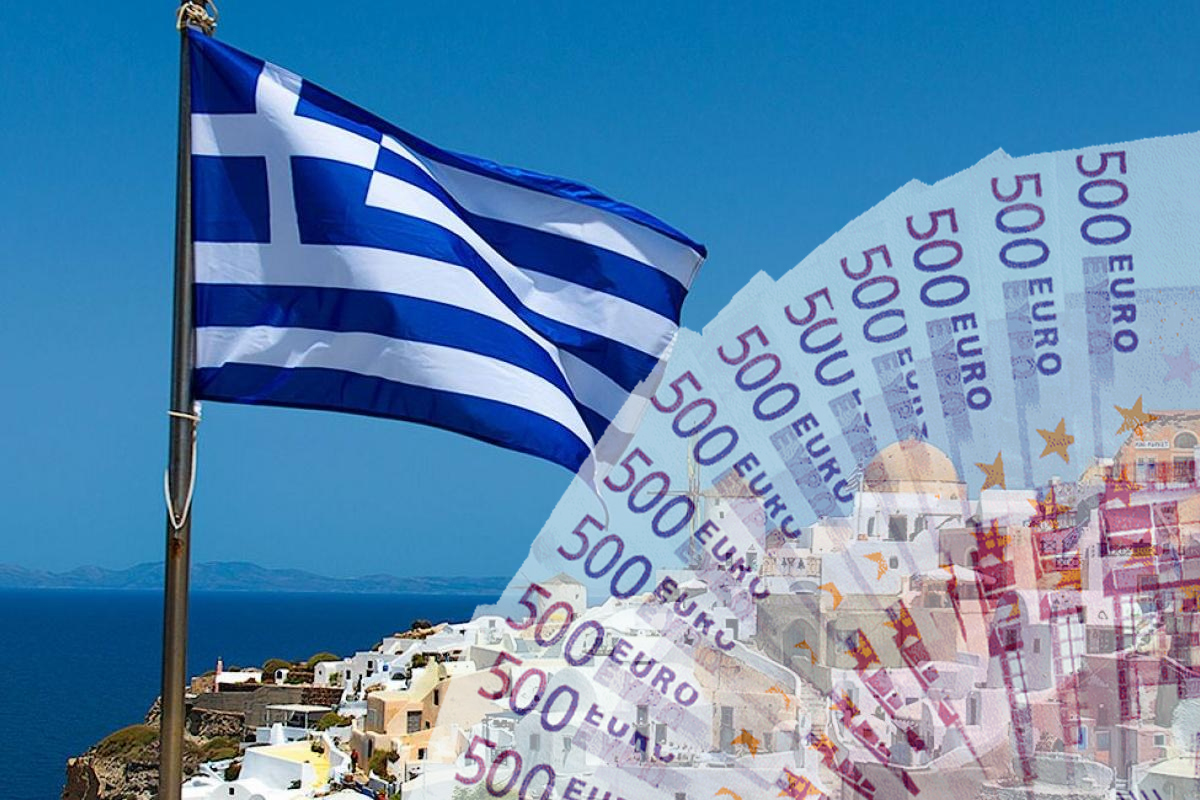 фото денег греции