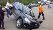 Рейтинг городов России с самыми опасными дорогами