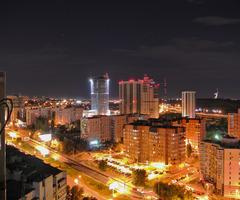 """Самое высокое здание на этой фотографии - Волгоградский деловой центр """"Волгоград-Сити"""""""