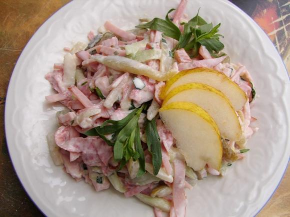 рецепты салатов к праздничному столу из языка