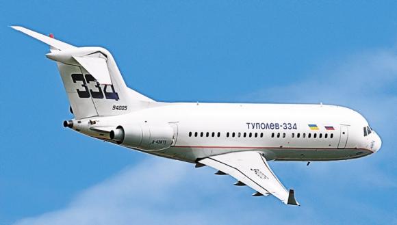 ТУ-334 против полюсов недоступности