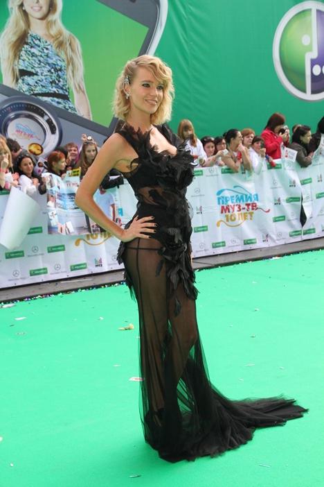 Анна семенович черное платье