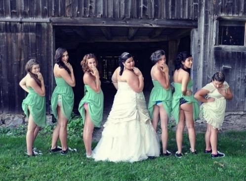 интимные фото невесты во всех позах
