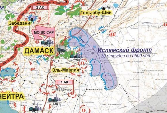 Сирия: итоги месяца войны