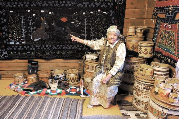 Прасковья Матаннакова, Таата, Якутия