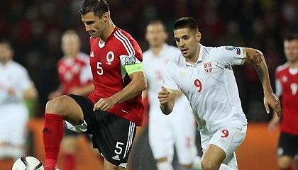 Албания 0:2 Сербия