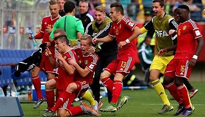 Бельгия U-17 3:2 Мексика U-17