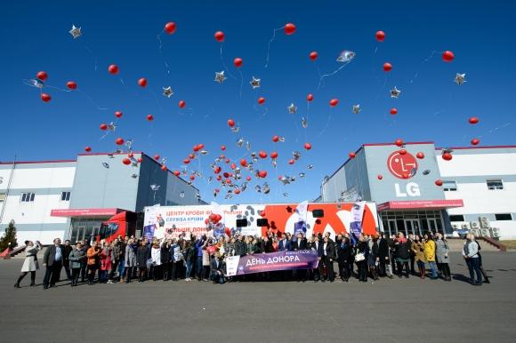 Дни донора с LG: программа поддержки донорства крови добралась до космоса
