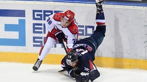 ЦСКА (Москва) - Слован (Братислава), счет в серии 4:0