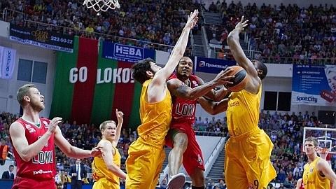 Евролига, четвертьфинал, пятый матч: Локомотив-Кубань 81:67 Барселона