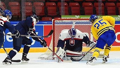 Швеция U20 6:0 Словакия U20