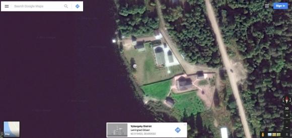 Дача на границе с Финляндией