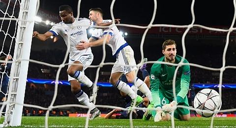 Лига Чемпионов, 1/8 финала, первые матчи. ПСЖ 2:1 Челси