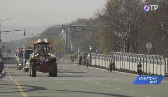 Открыт проезд помосту через Половинку наКамчатке