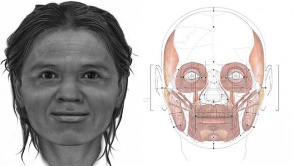 Ученые раскрыли, как выглядела женщина 13 тыс. лет назад