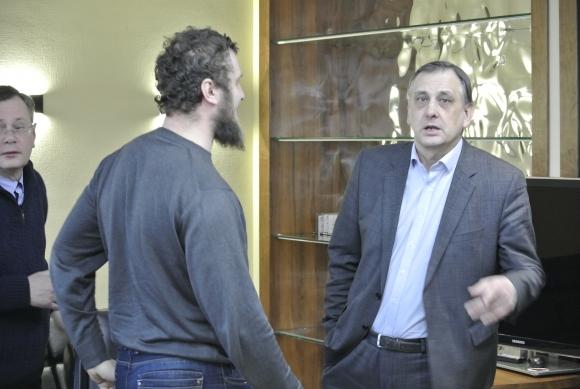 Во Владивостоке представили нового директора Приморского океанариума
