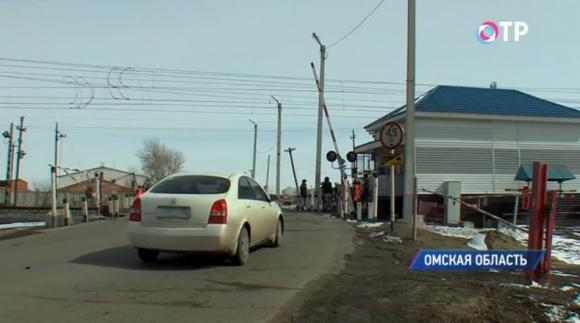 Омские автоинспекторы и волонтеры вышли в рейд на железнодорожные переезды