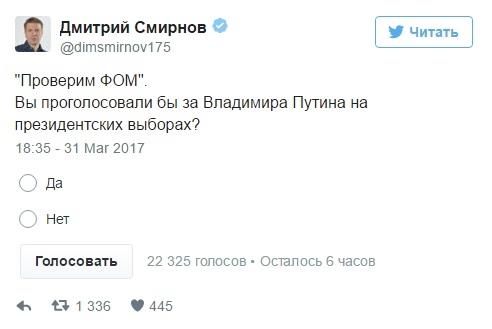 Опрос Смирнова