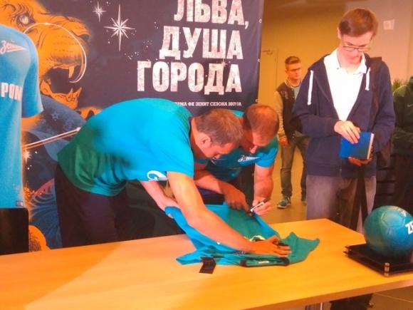 Петербургский «Зенит» обыграл «СКА-Хабаровск»