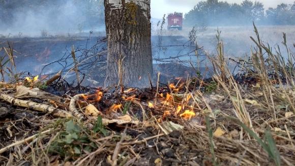 В ДНР произошел крупный пожар в районе санаторного комплекса (ФОТО, ВИДЕО)