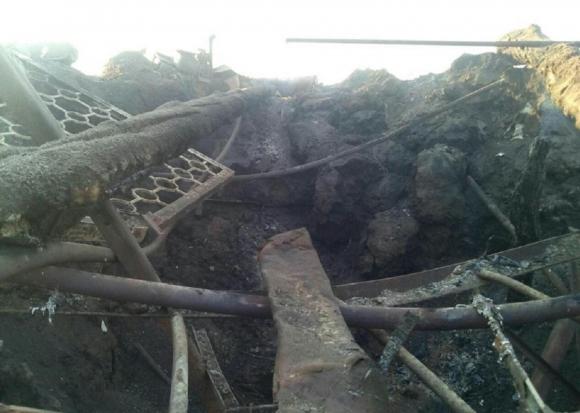 Опубликованы фотографии разгромленной ополченцами Донбасса передовой позиции ВСУ
