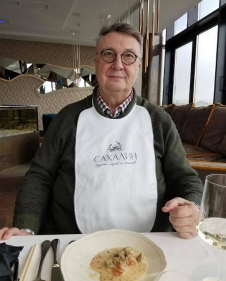 Игорь Макурин в ресторане