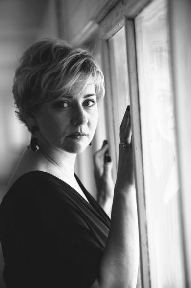 Дарья Фекленко на одной из фотосессий, из личного архива