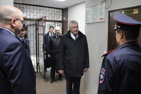 Глава МВД Владимир Колокольцев поставил задачи ставропольским правоохранителям