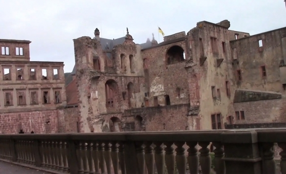 Германия: Легендарные руины Гейдельберга
