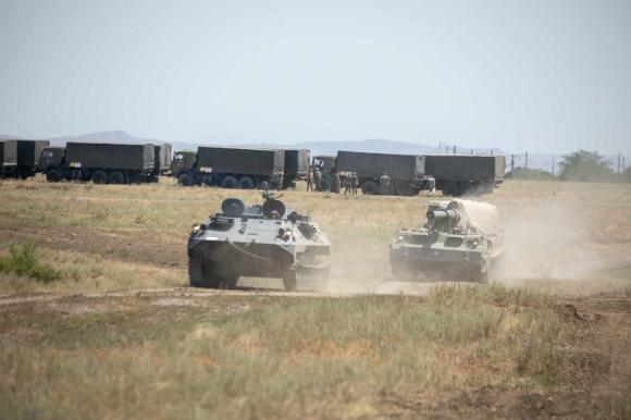 Начальник Генштаба ВС РФ проинспектировал войска Южного военного округа