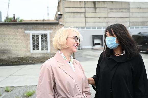 Ирина Гехт и Ирина Текслер