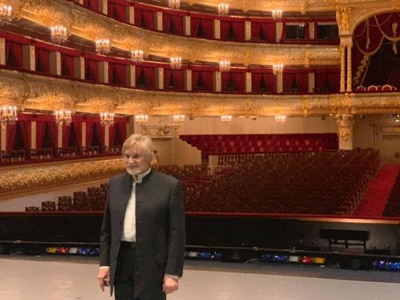 Юбилей выдающегося танцовщика Владимир Васильева в Большом театре