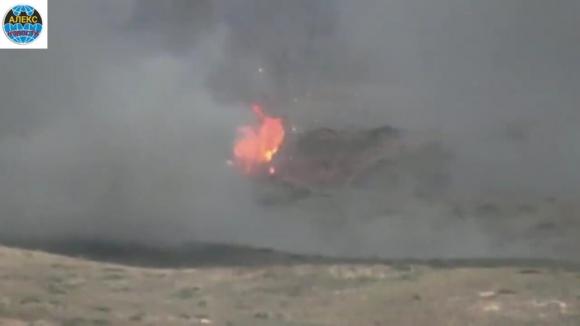 Армия НКР сбила три самолета ВВС Азербайджана