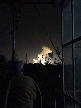 Израиль подверг массированным авианалетам военные цели на территории Сирии