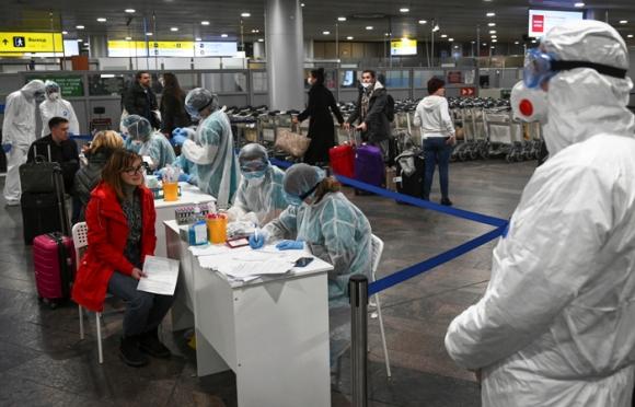 карантин в аэропорту Шереметьево
