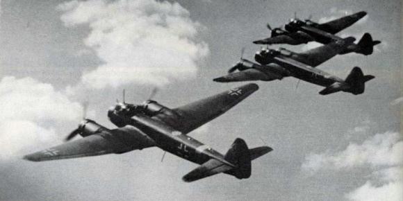 В ночь 21 июня в 1941 году люфтваффе впервые бомбили Москву