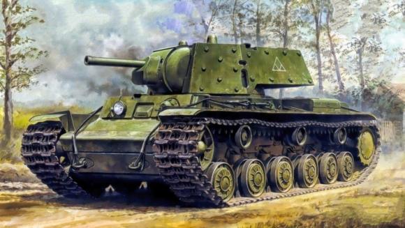 В этот день в 1939 году на вооружение РККА были приняты тяжелый танк КВ-1 и средний танк Т-34