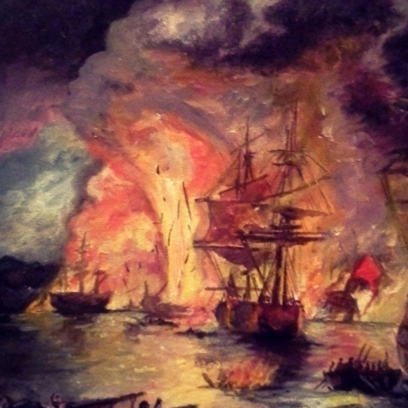 В сентябре 1790 года эскадра Ушакова разгромила турецкий флот у мыса Тендра