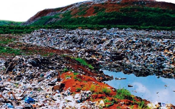 Свалки коммунальных отходов отравляют питьевую воду