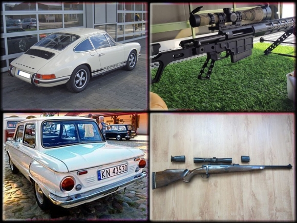 Фото: Порше 911 и Запорожец ЗАЗ-968, Винтовка Севастополь от Lobaev Arms и Карабин Лось-4
