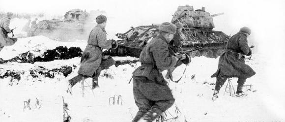 19 ноября 1942 года началось контрнаступление Красной Армии под Сталинградом
