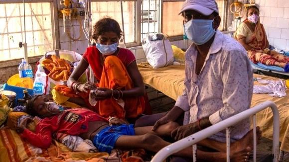 Возможно отравление. Медики предполагают, что неизвестная болезнь в Индии вызвана химикатами