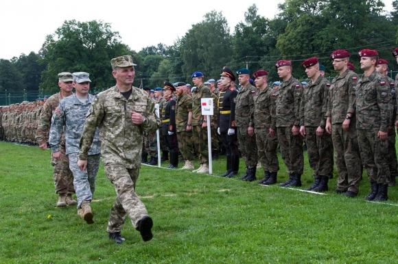 На западе Украины 16 сентября начнутся учения НАТО и партнеров