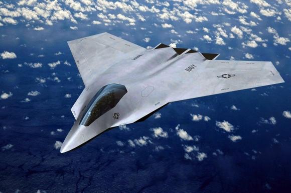 Америка опробовала пилотируемый истребитель шестого поколения с искусственным интеллектом