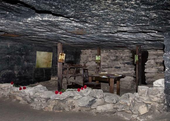 Фото Константина Игнатова; На фото: Штаб подземного гарнизона. Общий вид