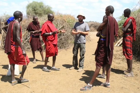 Рискованная сделка. Масаи, Танзания. Фото: личный архив