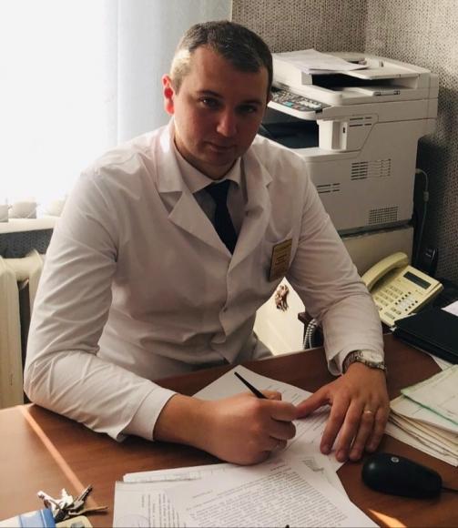 Вадим Быканов - заместитель главного врача Семилукской районной больницы по поликлинической работе