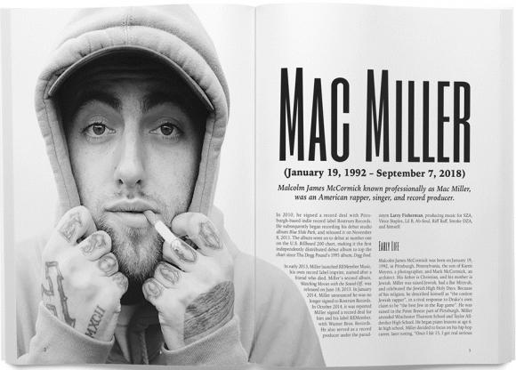 Mac Miller (Malcolm James McCormick) американский рэп/хип-хоп-исполнитель, композитор, продюсер.